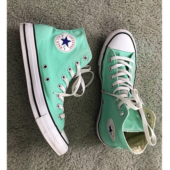 Converse Chuck Taylor All Star Mint Green High Top